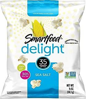 Smart50 Popcorn, Sea Salt, 0.5oz Bags (Pack of 36)Packaging May Vary