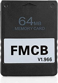 RGEEK 2020 Upgraded FreeMcBoot FMCB 1.966 PS2 Memory Card 64MB for Sony Playstation 2 PS2,Just Plug and Play, Help You to ...