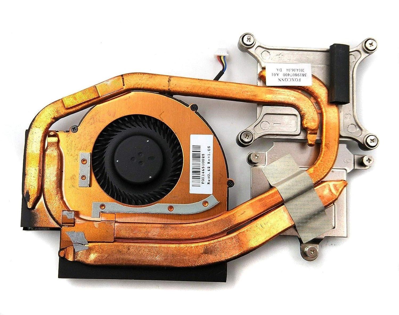 HK-Part Replacement Fan for Lenovo ThinkPad W520 CPU Cooling Fan with Heatsink 4-Pin 4-Wire FRU 04W1574
