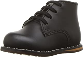 Josmo Baby Unisex Walking Shoes First Walker, Black, 6 Medium US Infant