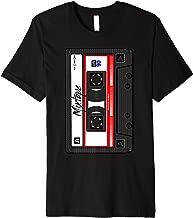 Cassette Tape Music Mix Audio 90s Party 80s Outfit Cassette Premium T-Shirt