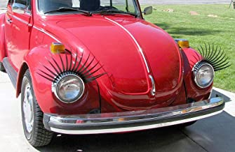 Special Edition CarLashes Hand Airbrushed Candy Red CarLashes Ombre Shaded RED Car Eyelashes