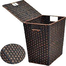 YAYADU Storage Basket Finishing Box Dirty Laundry Baskets Straw Rope Woven Store Toy Dessert Clothes For Kitchen Bathroom ...