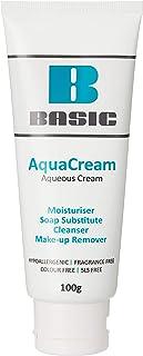 Basic AquaCream Moisturising cream, Soap substitue, Cleanser, Make up remover, 100g