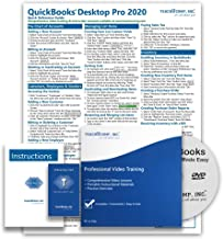 Learn QuickBooks Desktop Pro 2020 DELUXE Training Tutorial- Video Lessons, PDF Instruction Manual, Quick Reference Guide, Testing, Course Certificate of Completion by TeachUcomp, Inc.