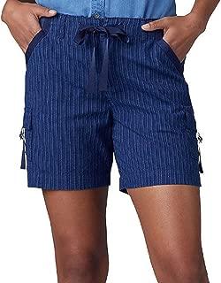Lee Womens 35987 Regular Fit Drawstring D-Ring Cargo Short Cargo Shorts