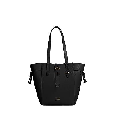Furla Net Medium Tote (Nero) Handbags