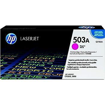 Hp Color Laserjet Cp 3505 N Original Hp Q7583a Toner Magenta 6000 Pages Bürobedarf Schreibwaren