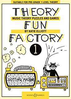 Theory Fun Factory 1: Music Theory Puzzles and Games