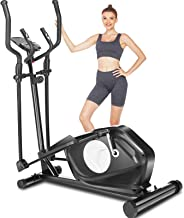 FUNMILY Elliptical Machines for Home Use, Cardio Cross Trainer Equipment with 8 Levels Magnetic Resistance, Elliptical Tra...