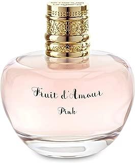 Emanuel Ungaro Fruit D'amour Pink Women's Eau de Toilette Spray, 3.4 Ounce
