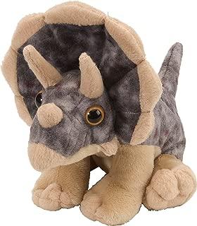 Wild Republic 10893 Triceratops Plush, Dinosaur Stuffed Animal, Gifts for Kids, Cuddlekins 8