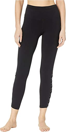 Laced Ankle Leggings