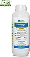 GrowSafe Bio-Pesticide Organic All-Natural Ingr. Fungicide,Insecticide, Pesticide.Better and Safer Than Other Oils for Plants, Control Mites, Powdery Mildew, Insects.Non-Phytotoxic,Concentrate(33.8oz)