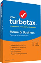 TurboTax Home & Business + State 2019 Tax Software [Amazon Exclusive] [PC/Mac Disc]