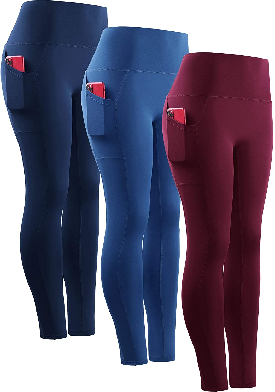 Neleus Women's Yoga Pant Running Workout Leggings with Pocket Tummy Control High Waist : Sports & Outdoors