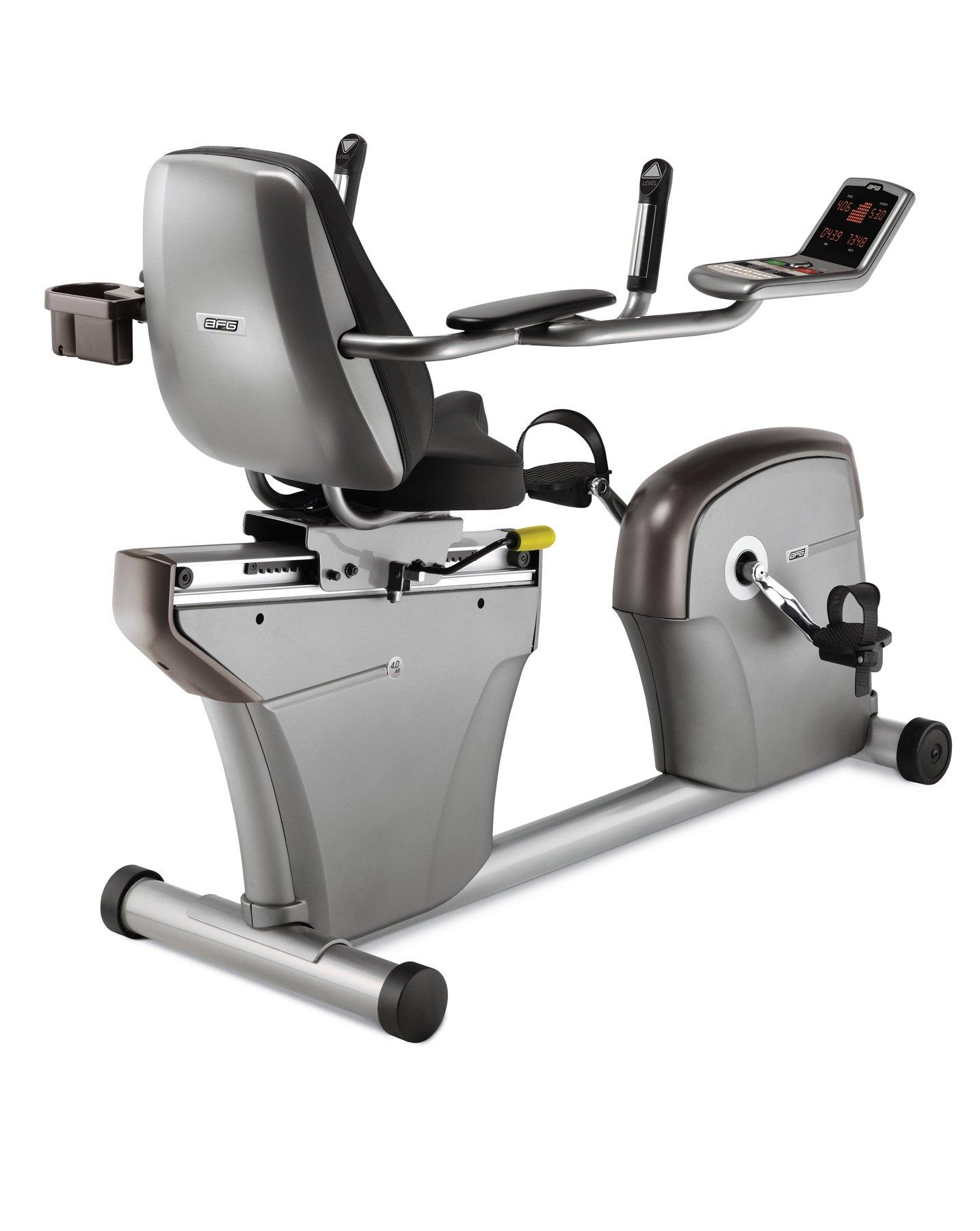 AFG 4.0 Ar reclinado bicicleta estática: Amazon.es: Deportes y ...