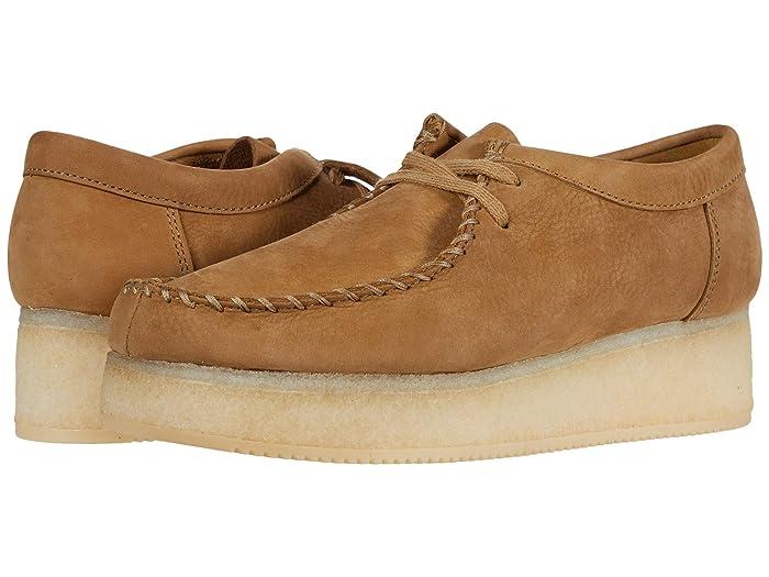 Clarks  Wallacraft Lo (Oak Nubuck) Womens Shoes
