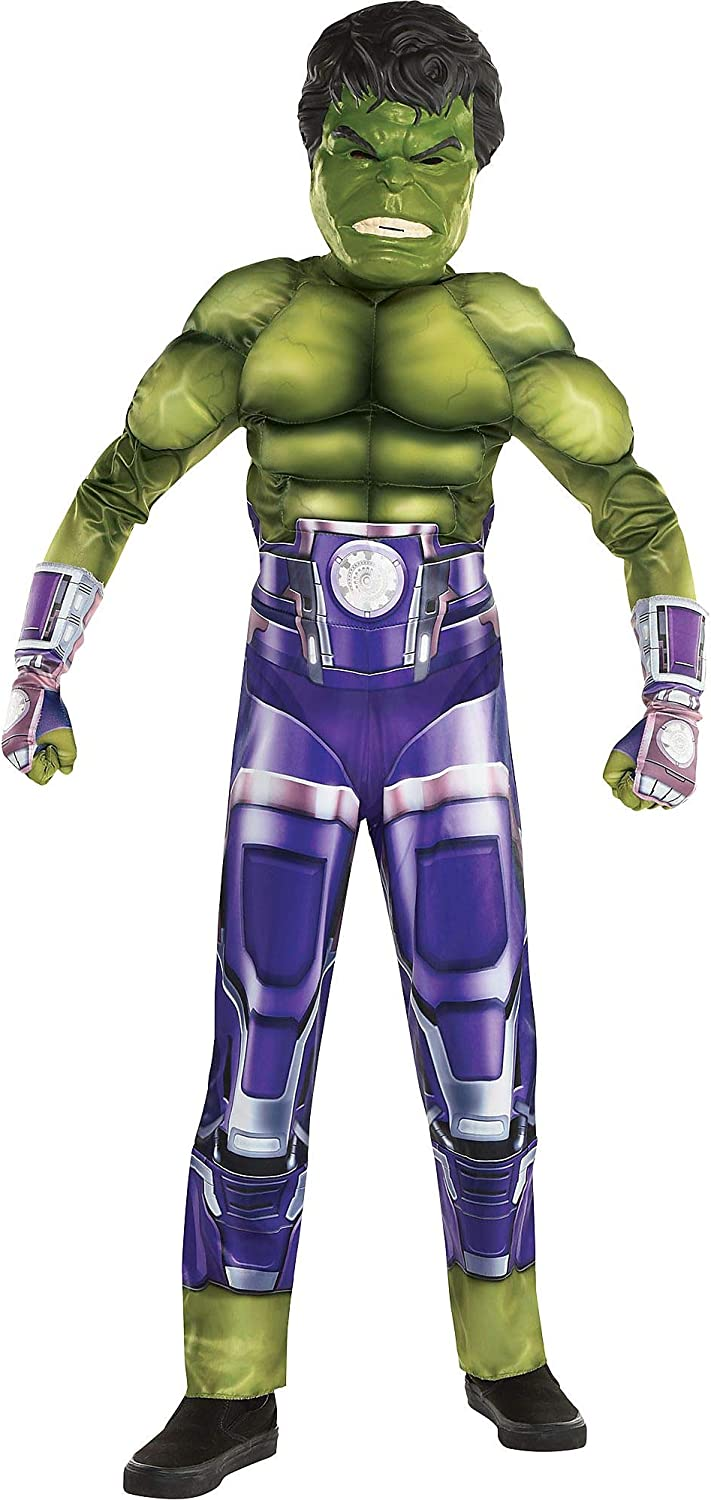 Discount mail order Party City Hulk Halloween Surprise price Costume Marvel's Avenge Boys for