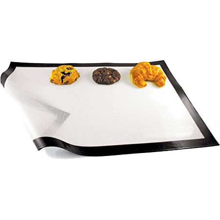 Paderno World Cuisine Silicone Nonstick Baking Mat 16 3 8in X 11 5 8in Kitchen Dining