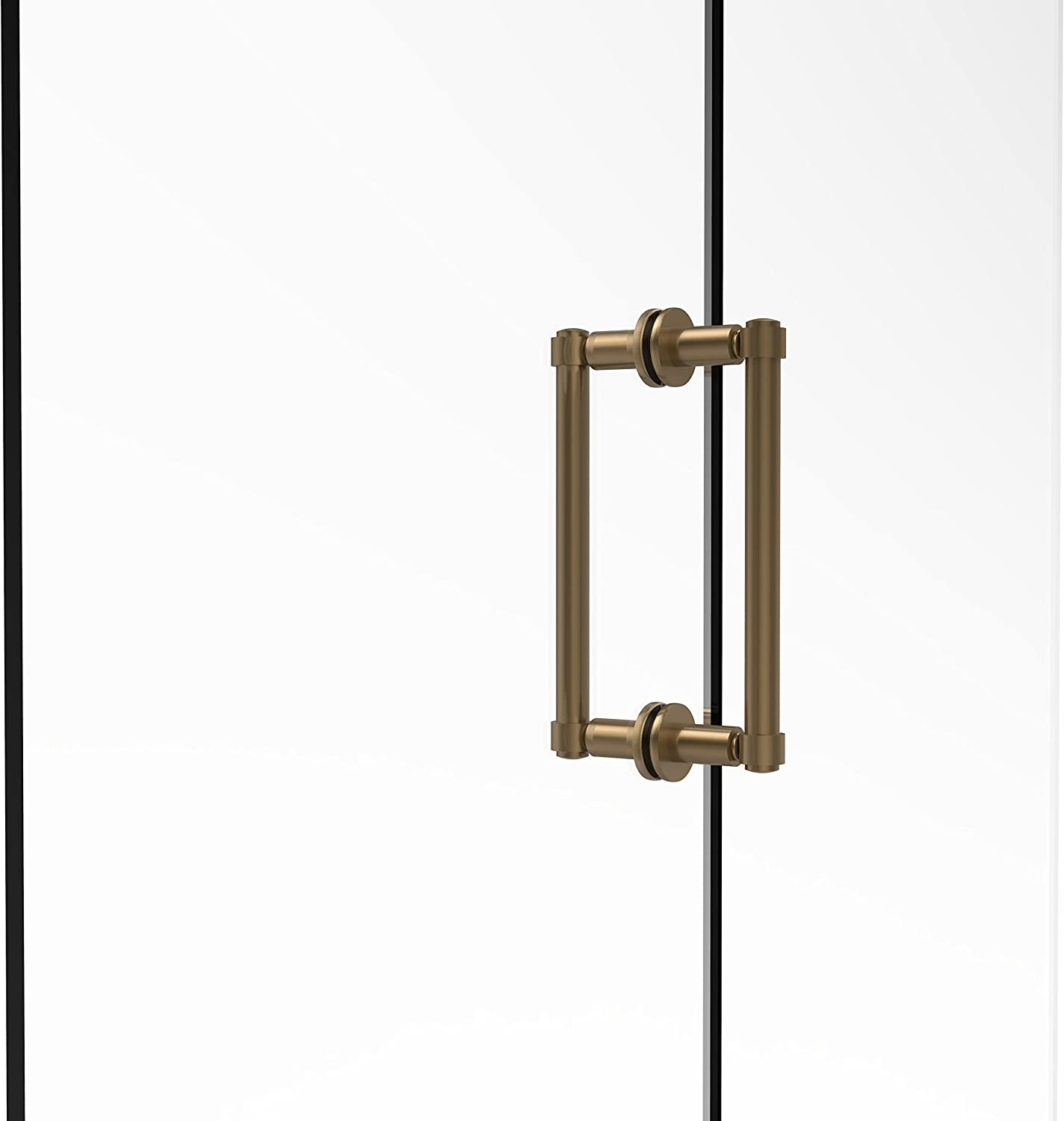 Allied Brass 405-8BB-BBR Contemporary 8  Back To Back Shower Door Pull,