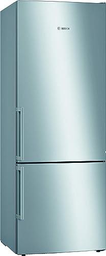 Bosch KGE58AICP Serie 6 Réfrigérateur congélateur XXL autoportant/C / 191 x 70 cm / 170 kWh/an/Inox anti-traces de do...