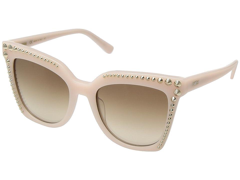 MCM MCM669SL (Milky Rose/Beige Gradient) Fashion Sunglasses