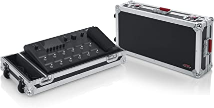 Gator Cases Heavy-Duty G-TOUR Style Live-In Road Case for Line 6 Helix Multi-Effects Floor Processor with Wheels (GTOURHELIXFLOOR)