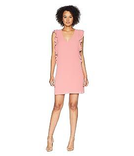 Kennedy - Sleeveless V-Neck Ruffle Dress