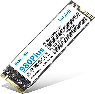 NVMe 512GB SSD- 3D NAND Flash PCIe Gen3.0x 4 M.2 2280 Internal Solid State Drivefor Laptop, Ultrabooks, Desktop Computer ...