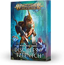 Games Workshop Warhammer Age of Sigmar: Warscroll Cards Disciples of Tzeentch