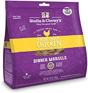 Stella & Chewy's Chick, Chick, Chicken Freeze Dried Dinner Morsels for Cats 18oz