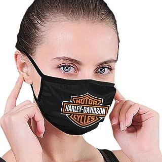 Lionel Philip Sicheres wiederverwendbares Gesicht, Motor Harley Motorrad Davidson Feuerhintergrund, Schutz Waschbarer Mund  und Nasenschutz Atmungsaktiver Rauchschutz
