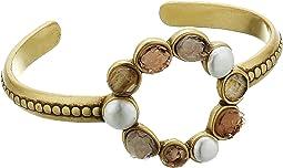 Druzy Circle Cuff Bracelet