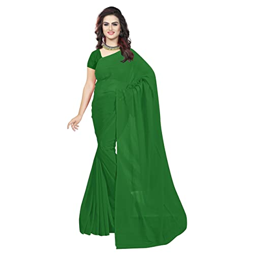 b1363e6801 Bottle Green Sarees: Buy Bottle Green Sarees Online at Best Prices ...