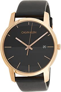 Calvin Klein City K2G2G6CZ Leather Analog Casual Watch for Men
