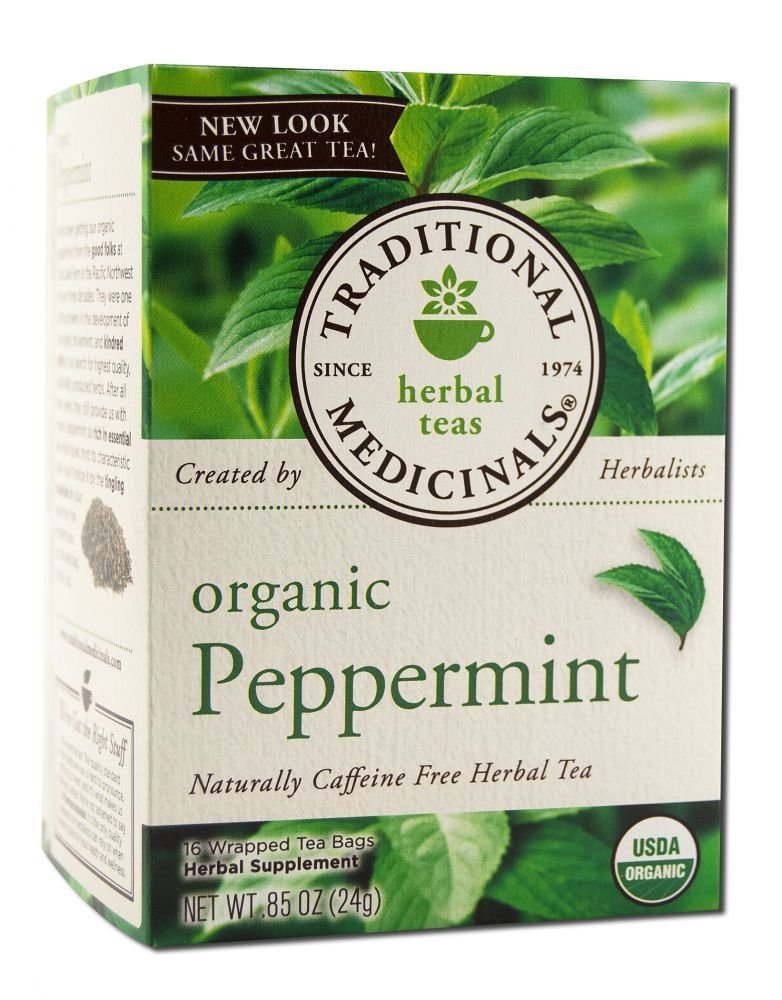 16 Count Traditional Medicinals Teas Organic Chamomile with LavenderTea Bags