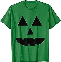 Scary Pumpkin Face Jack-O-Lantern Funny Halloween Gift  T-Shirt