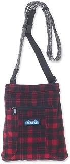 KAVU Keepon Keepin Plaid Semi Padded Sling Lightweight Rope Crossbody Bag