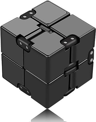 Funxim Fidget Cube Décompression Jouet Cube de l'infini, Stress de Jouet de Doigt de Fidget et soulagement d'inquiétu...