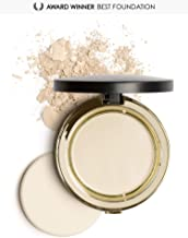 Mirenesse Skin Clone Mineral Powder Foundation SPF15, 4-in-1 Flawless Skin Serum High Coverage Matte Finish Hydrating Silky Powder in Compact, Vegan & Toxin Free, 21 Vienna 0.46oz