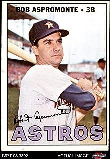 1967 Topps # 274 Bob Aspromonte Houston Astros (Baseball Card) Dean`s Cards 2 - GOOD Astros