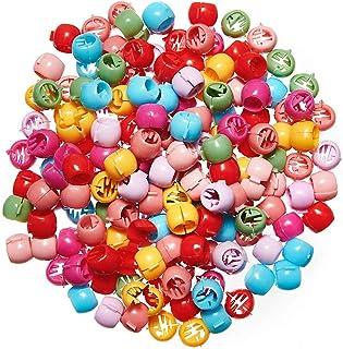 BHARATGAURAV 50 PCS Lot Mini Hair Claw Clips For Women Girls Candy Color Plastic Hairpins Hair Braids Maker Beads Hair Acc...