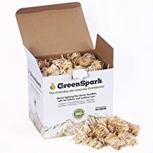 GreenSpark – Friendly Fire Starter Bundles, 70 Count, 100% All-Natural, 8-10 Min. Burn,..