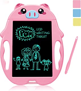 Mycaron Girl Toys for 3-6 Year Old Girls Gifts,LCD Doodle Board Drawing Board for Little Girl Educational Birthday Gifts as Girls Toys Age 3 -6 ,Better Than Magnetic Doodle Board