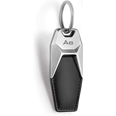 Audi collection AUDI A6 LEATHER KEYRING BLACK SILVER 3181900606