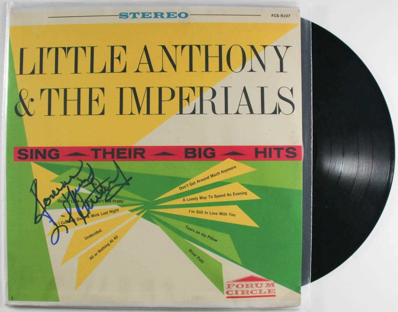 Little Anthony Signed Classic Autographed 5% OFF