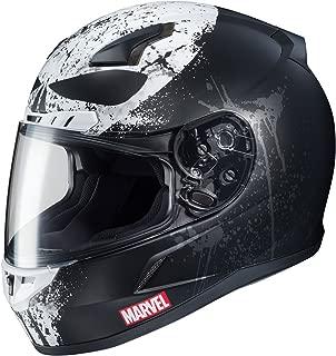 HJC CL-17 Punisher 2 Mens Street Motorcycle Helmet - MC-5SF / Large