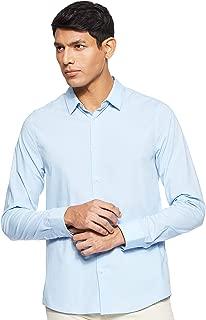 Calvin Klein Men's J30J312439-Light Blue Shirts