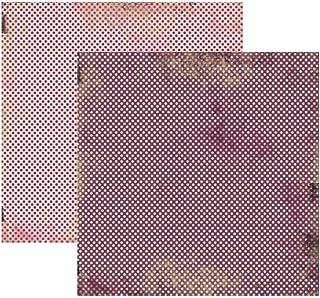 Kit Fls.P/ Scrap Basico Vintage Lilas Poa C/12 Un (By Flavia Terzi), Toke E Crie, Kfsb168, Multicolorido, Pacote De 12